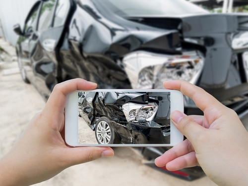 documenting accident damage