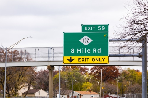 8 Mile Intersections With Fatal Crashes