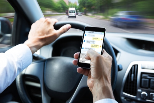 Distracted Driving Statistics for 5 Michigan Communities