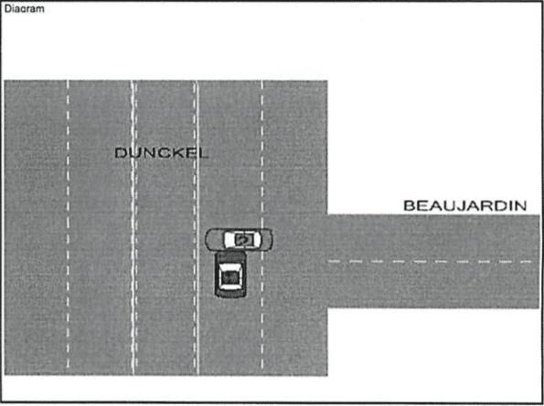 michigan car crash diagram