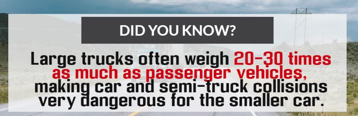truck vs car accident