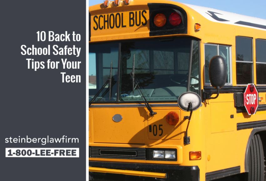 10 Back to School Safety Tips for Your Teen