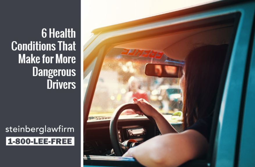 6 Health Conditions That Make for More Dangerous Drivers