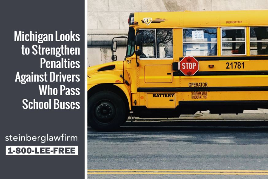 Michigan Looks to Strengthen Penalties Against Drivers Who Pass School Buses