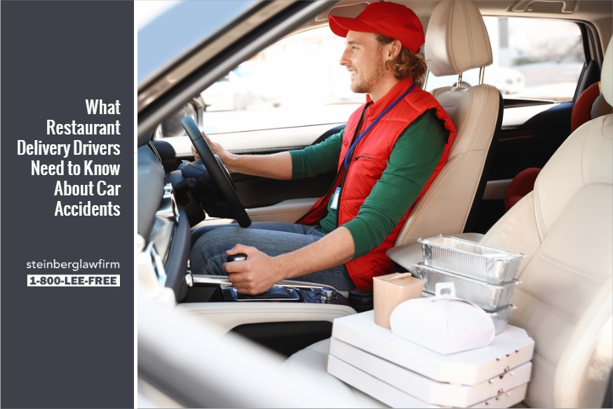 What Restaurant Delivery Drivers Need to Know About Car Accidents