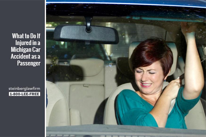 car passenger accident claims