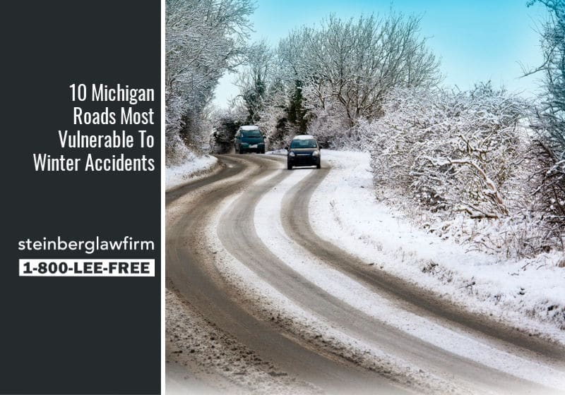 10 Michigan Roads Most Vulnerable To Winter Accidents