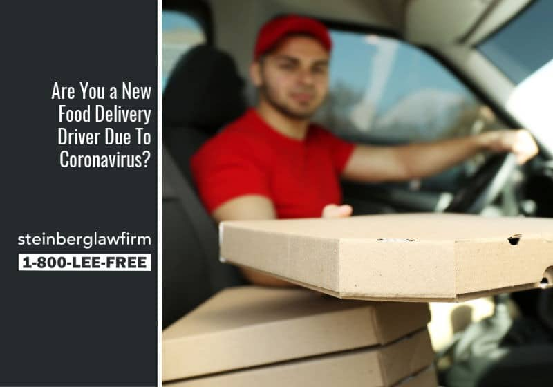 Are You a New Food Delivery Driver Due To Coronavirus?