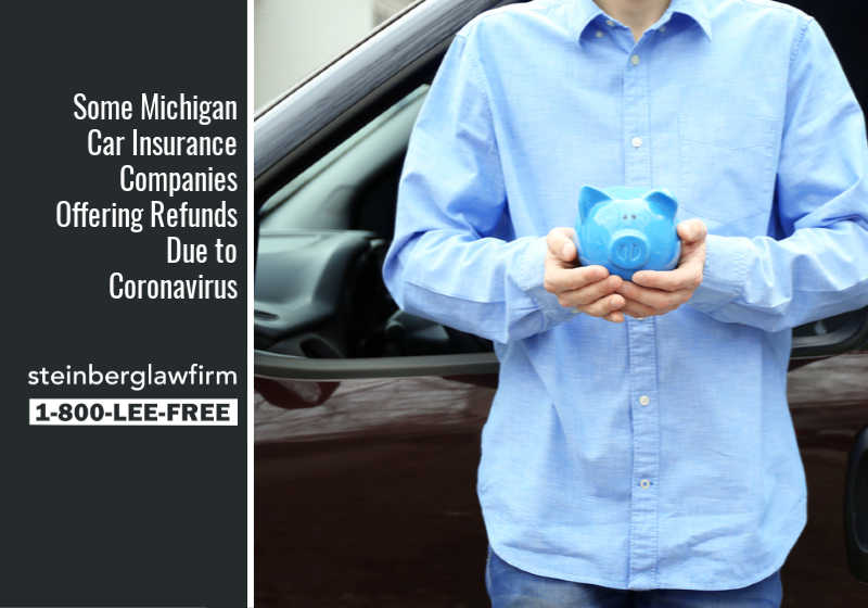 Some Michigan Car Insurance Companies Offering Refunds Due to Coronavirus