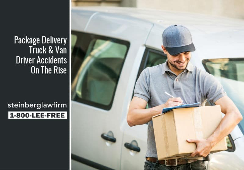 Package Delivery Truck & Van Driver Accidents On The Rise