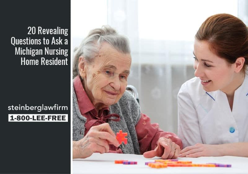 20 Revealing Questions to Ask a Michigan Nursing Home Resident