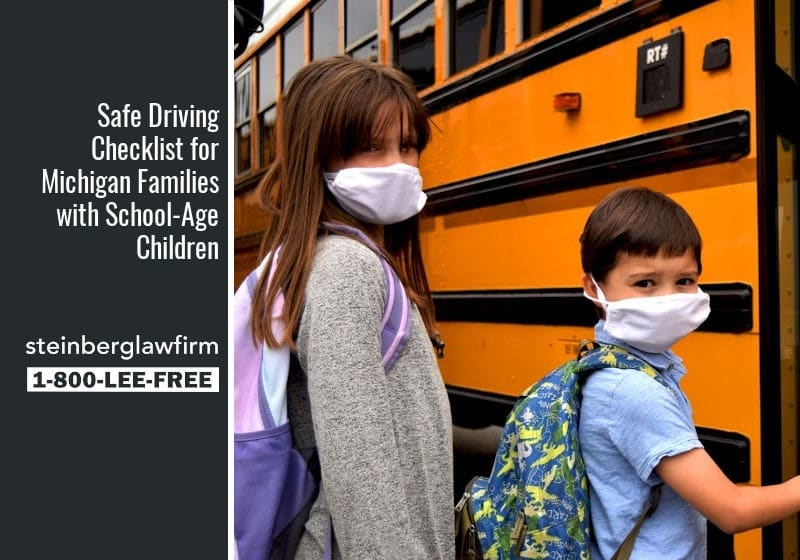 Safe Driving Checklist for Michigan Families with School-Age Children
