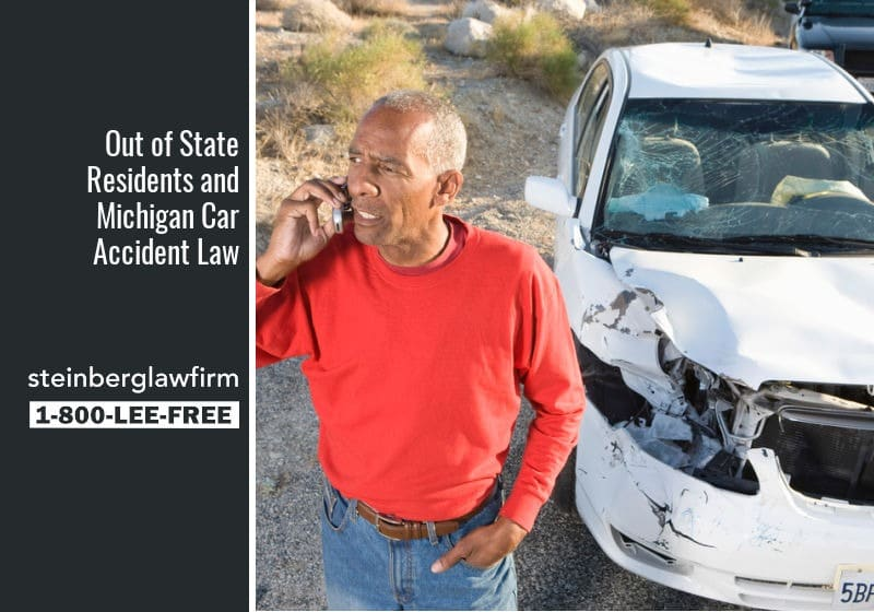 residents of michigan in accidents outside michigan