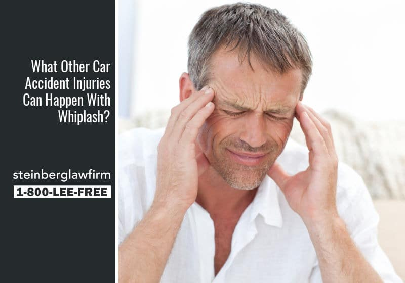 What Other Car Accident Injuries Can Happen With Whiplash?