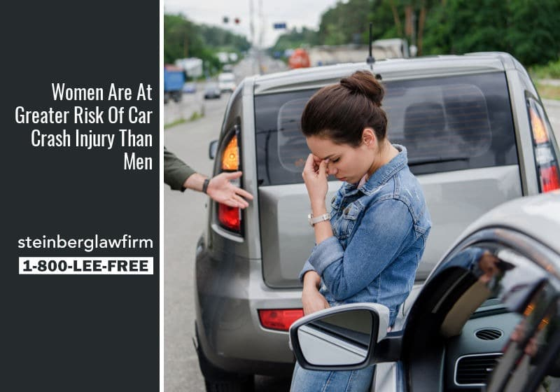 risk of women in car accidents