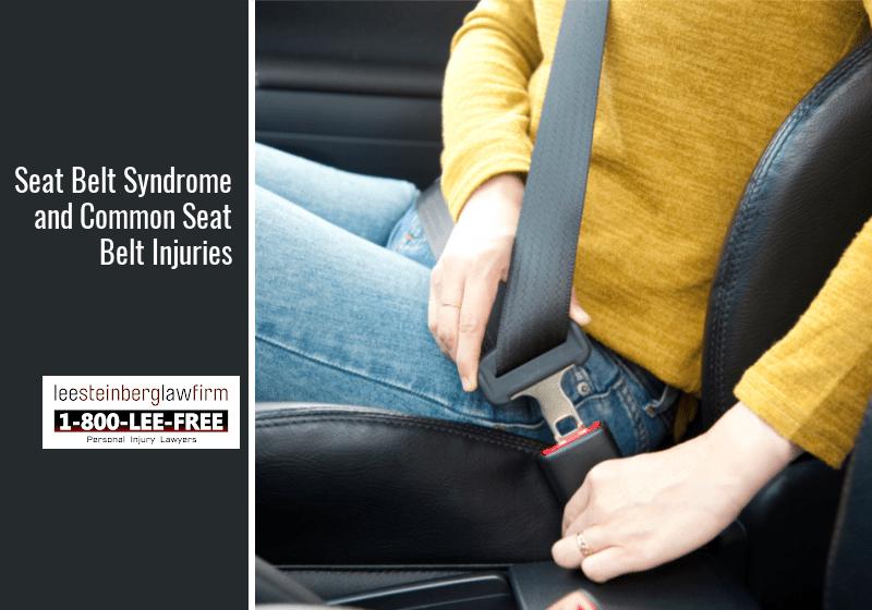 common seat belt injuries